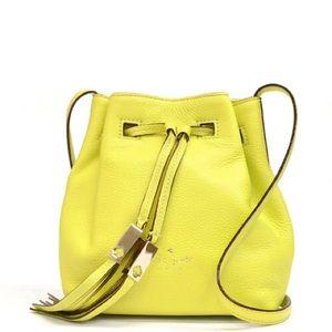 Kate Spade Cooper Gray Street Leather Bucket Bag